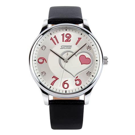 Jam Tangan Wanita 1 skmei jam tangan analog wanita 9085cl black jakartanotebook