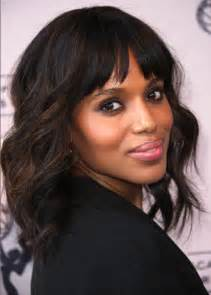 are americans hair thin and soft kerry washington soft waves haircuts for medium hair