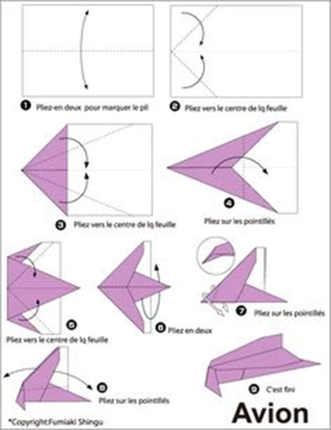 Origami Avion - origami and comment on