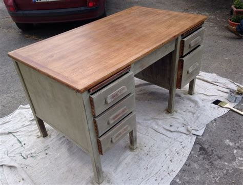 chalk paint executive desk desk painted with sloane chalk paint in grey