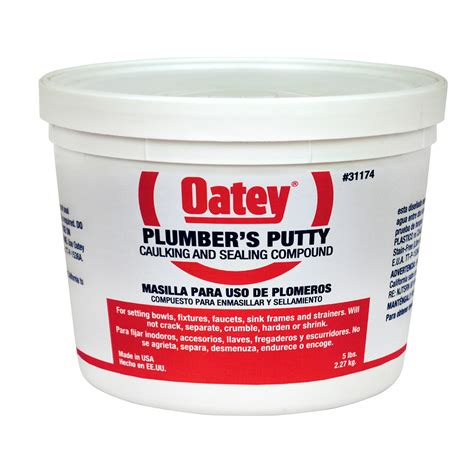Advanced Fastening Supply   OATEY 5LB. PLUMBER'S PUTTY