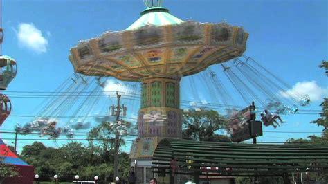 wave swings  adventureland amusement park long island ny youtube