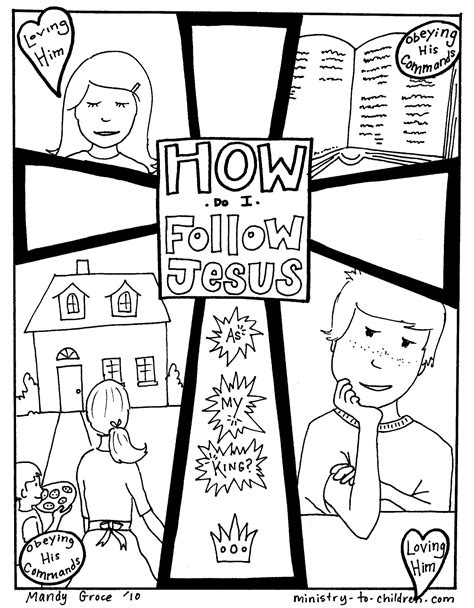 preschool coloring pages jesus coloring pages follow jesus directions to download