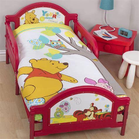 winnie the pooh cot bed set winnie the pooh junior cot bed toddler duvet set bundle 4