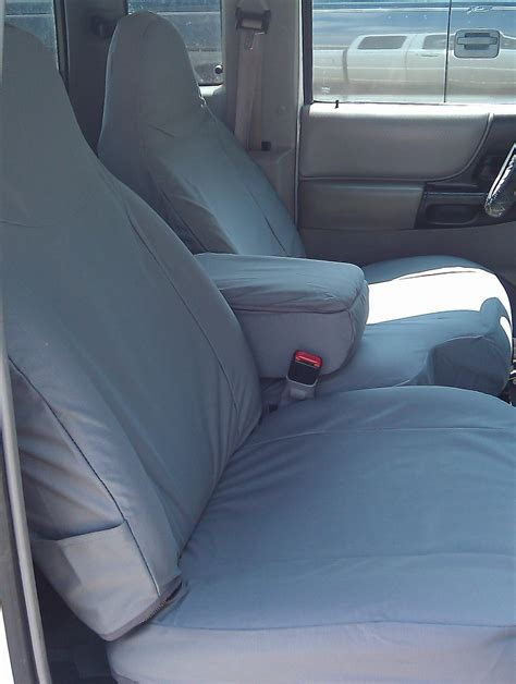ford ranger bench seat covers 1998 2001 ford ranger xlt xcab front high back 60 40 split