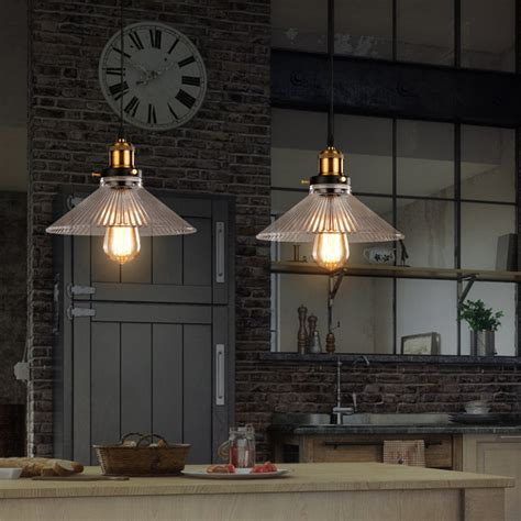 rustic pendant lighting kitchen aliexpress com buy glass pendant light for home black