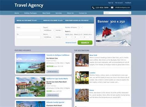 html templates for tourism website free download travel website template 25 designs to download