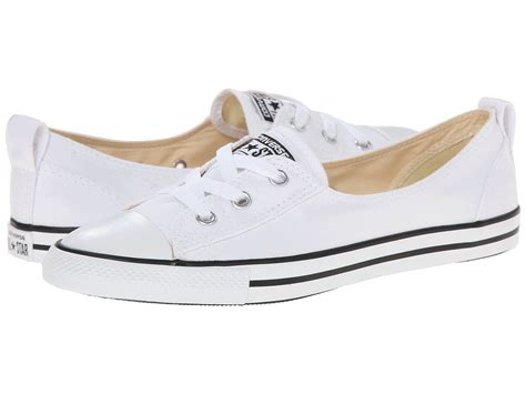 converse ballet sneakers converse chuck 174 all 174 ballet lace slip in white