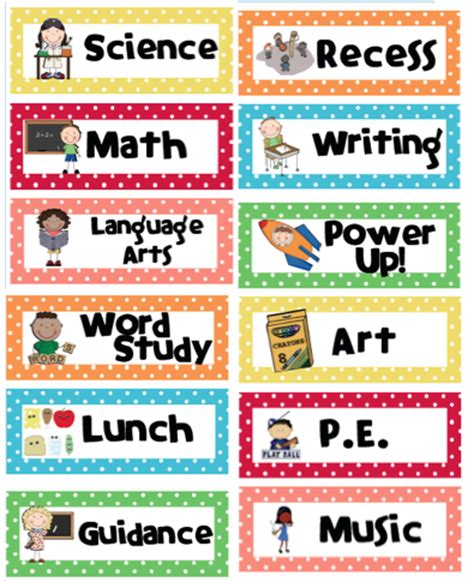 Free Classroom Picture Card Templates Printable by Free Printable Classroom Decorations Free Clip
