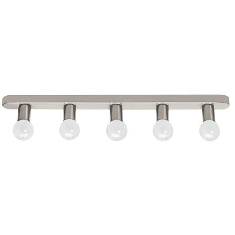 crompton hollywood light 5x25w satin chrome bunnings