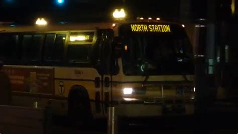 by way of the green line bus youtube mbta 1995 novabus t80206 quot rts 06 quot 0386 on the green line