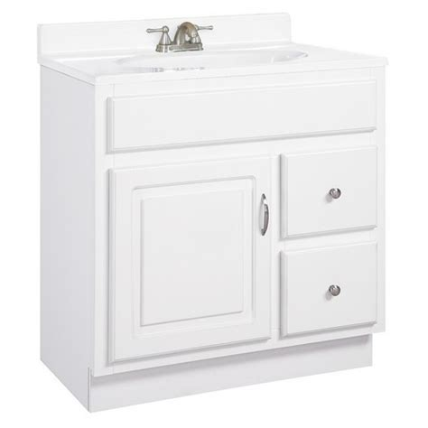 design house concord vanity design house 541037 concord white gloss vanity cabinet