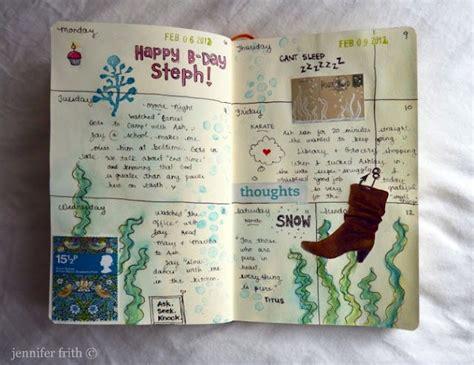 sketchbook journal ideas journal page diy ideas