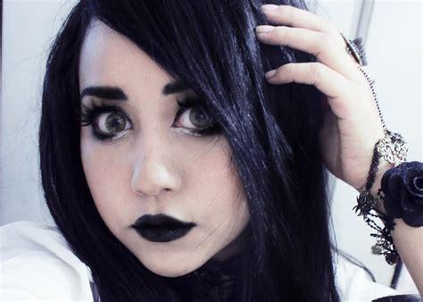 imagenes de ojos emo maquillaje oscuro inspirado dark miku youtube