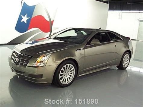 cadillac cts coupe for sale by owner find used 2011 cadillac cts 3 6l coupe auto leather one