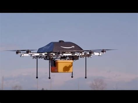 amazon drone amazon testing drone delivery system youtube