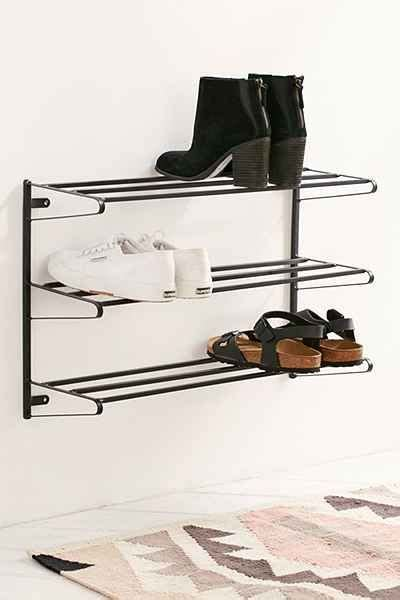 vertical shoe storage optimize your vertical storage space with this wall