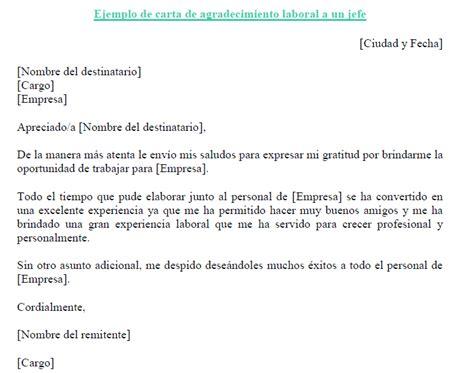 frases para jubilacion jefe ejemplo de carta de ejemplo de carta de agradecimiento laboral a un jefe