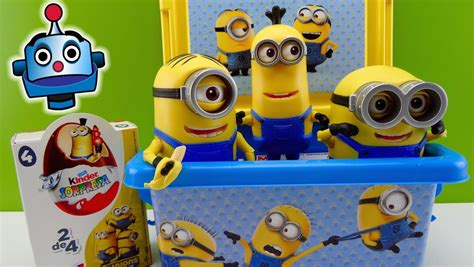 imagenes de minions juguete minions caja con juguetes y huevos sorpresa minions