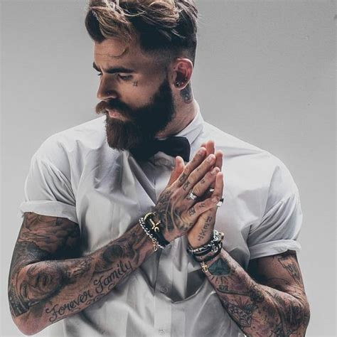 beard tattoo hashtags 17 best images about guys with tattoos on pinterest ink