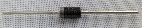 schottky diode number 1n5820rlg schottky diode 20v 3