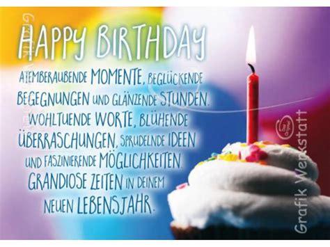 karten werkstatt postkarte happy birthday grafik werkstatt postkarte