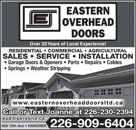 overhead door hours eastern overhead doors opening hours 626 12th ave