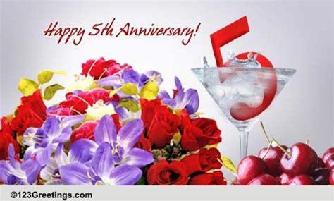 Celebrate 5 Years Of Love! Free Milestones eCards