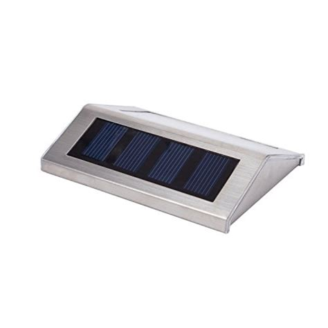 Outdoor Solar Step Lights Lightess Solar Stair Lights Outdoor Led Step Lighting 2 Leds Stainless Steel For Steps Paths