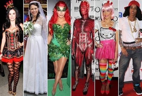 celebrity hollywood costumes the best and worst celebrity halloween costumes of 2011