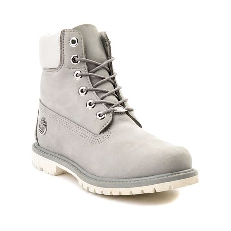 Timberlan Boots womens timberland 6 metallic collar premium boot gray