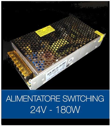 alimentatori 24v alimentatore switching 24v 180w stabilizzato