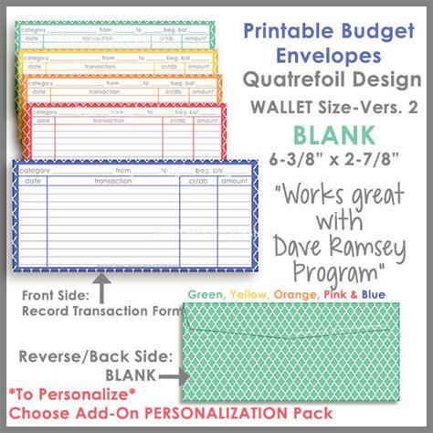 envelope budgeting template wallet size printable envelope ver 2 budgeting