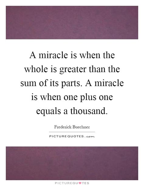 summing it up from one plus one to modern number theory books a miracle is when the whole is greater than the sum of its