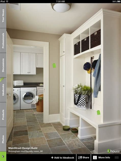 Mud Room Closets by Mud Room With Open Storage Closed In Closets For Coats
