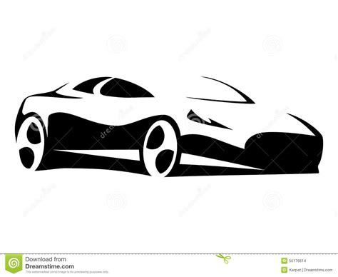 images of modern cars car silhouette modern stock vector image 55176614
