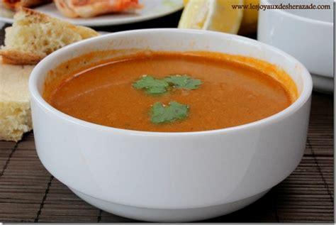 cuisine m馘iterran馥nne recette harira alg 233 rienne les joyaux de sherazade