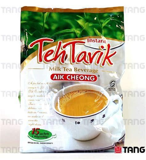 Teh Tarik Aik Cheong aik cheong instant teh tarik recipe