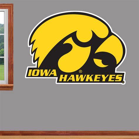Star Stickers For Walls iowa hawkeyes tigerhawk real big wallstar wallstars