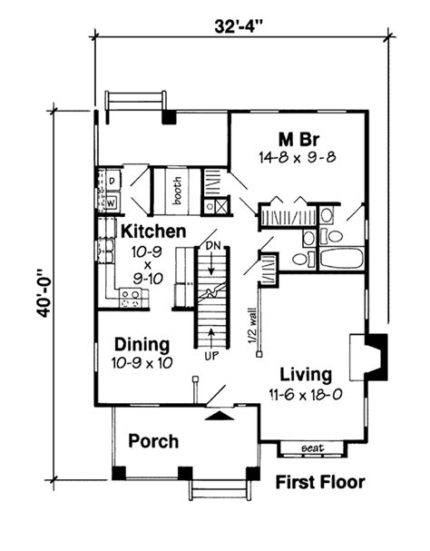 house plan dimensions house plan 24242 at familyhomeplans com
