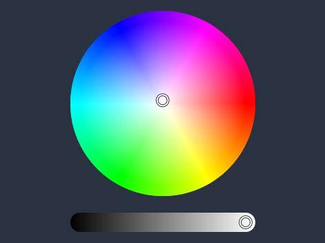 color wheel picker sleek html5 javascript color picker iro js css script