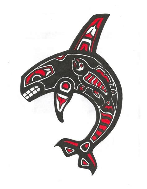 orca tribal tattoo the gallery for gt northwest tribal orca