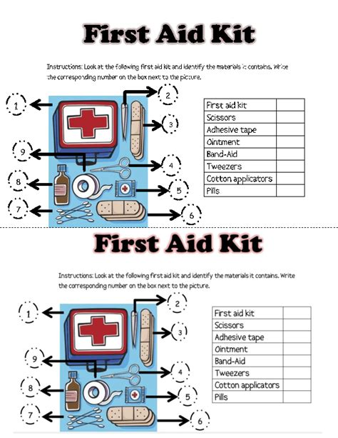 casa class 1 medical first aid kit