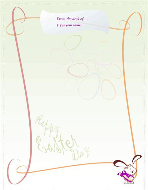 letter to easter bunny template easter bunny letter template free premium
