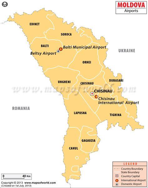 moldova map airports in moldova moldova airports map