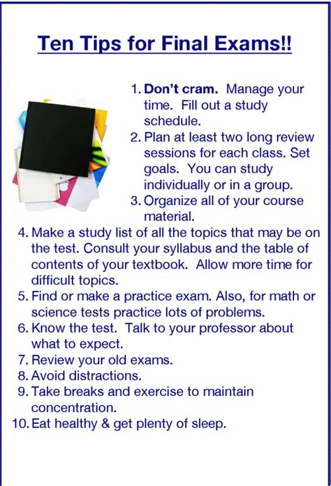 10 General Tips For High School by Tips Youngwelltowns Study Tips