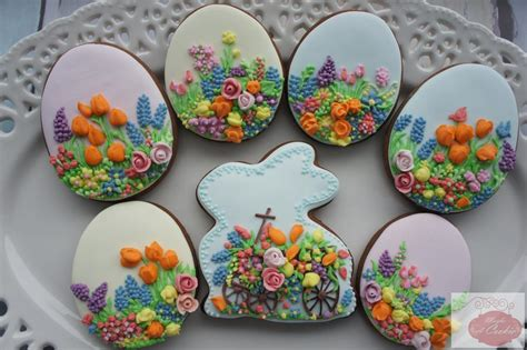 Easter Egg Decorations by Easter Cookie Set Cookie Connection