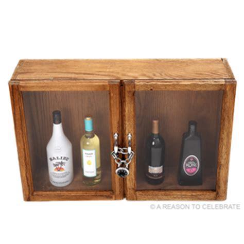 a reason to celebrate liquor cabinet
