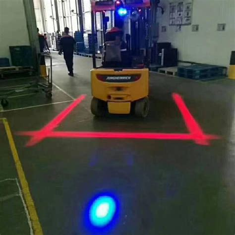 zone safety light danger zone led forklift light waterproof ip 68