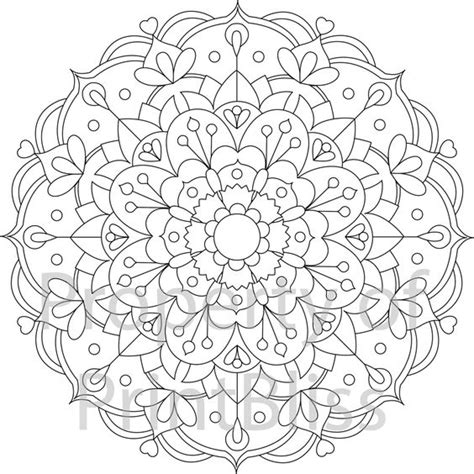 flower mandala coloring pages printable 23 flower mandala printable coloring page coloring